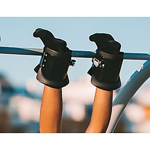 Gravity Inversion Boots Therapy Hang Spine Posture Physio Gym Fitness