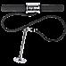 Forearm Wrist Grip Strength Roller Exercise Bar Home Gym Training