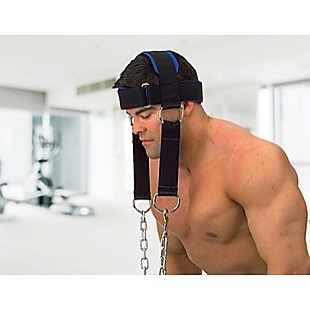 Head Harness Neck Support Lifting Weightlifting Strap