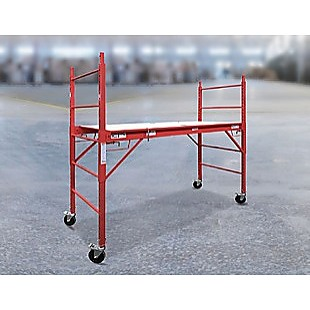 Mobile Safety High Scaffold / Ladder Tool -450KG