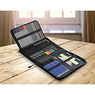 Art Sketch Pencils Oil Drawing Colouring Graphite Charcoal Pencil Set 72pcs/set