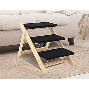 3 Steps Portable Dog Cat Pet Stairs