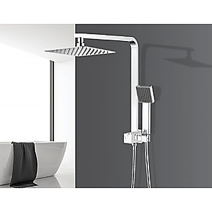 2-in-1 Massage Hand Shower & Head Tap Bathroom Mixer