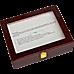 10 Grids Wooden Watch Case Glass Jewellery Storage Holder Box Wood Display