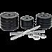 40KG Dumbbell Adjustable Weight Set