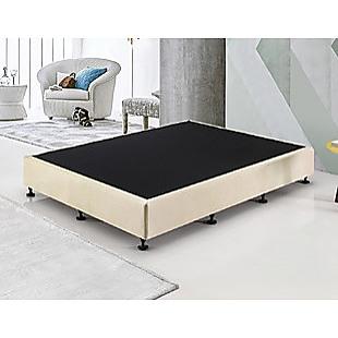 Palermo King Single Ensemble Bed Base Platinum Natural Sand Linen Fabric