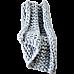 Hand Knitted Chunky Blanket Thick Acrylic Yarn Blanket Home Decor Throw Rug - Grey