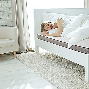 Palermo King Memory Foam Mattress Topper Cooling Gel Infused CertiPUR Approved