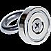 12Kg SALVAGE Strong MAGNET N52 Neodymium Eyebolt Circular Ring