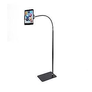 Adjustable Floor Stand Lazy Mount Holder Bracket For 4-9.5in Tablet Phone Stand