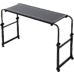 Overbed Table Work Laptop Desk with Wheels