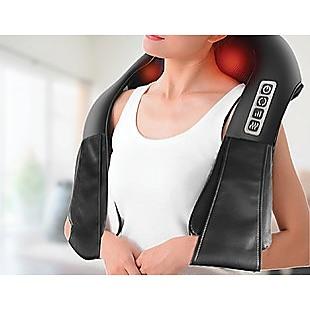 Shiatsu Neck & Back Massager with Heat Deep Kneading Massage Pillow for Shoulder