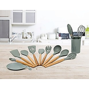 11x Kitchen Utensils for Cooking Baking Silicone Set