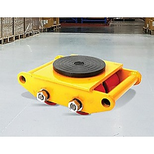 3x3 Heavy Duty Machine Dolly Skate Machinery Roller Mover Cargo Trolley 6T