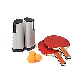 Table Tennis Game Indoor Portable Travel Ping Pong Ball Set Extendable