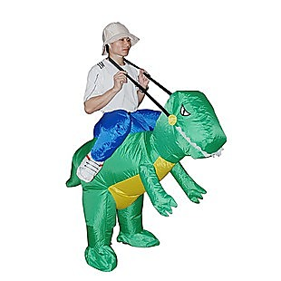 DINO Fancy Dress Inflatable Suit -Fan Operated Costume