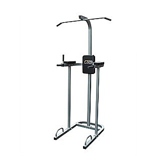 AB Power Tower Dip Chin Push Up Home Gym MultiStation
