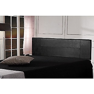 PU Leather King Bed Headboard Bedhead - Black
