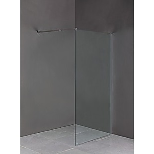 1000 x 2100mm Frameless 10mm Safety Glass Shower Screen