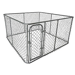 3 x 3m Pet Enclosure Dog Kennel Run Animal Fencing Fence