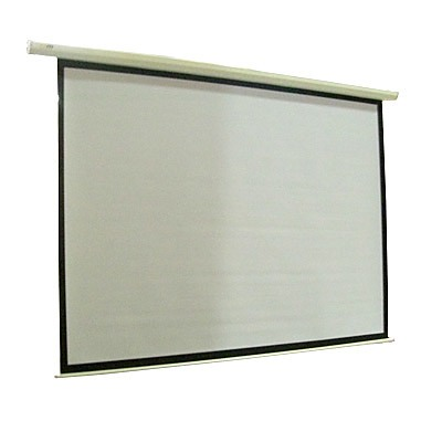 "New 150"" Electric Projector Screen W/Remote - TV DVD 
