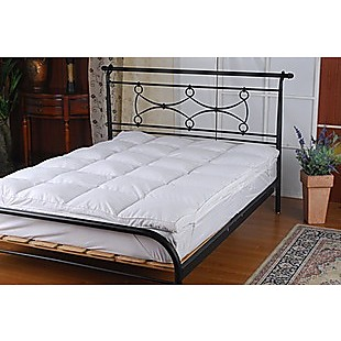 100% White Duck Feather Mattress Topper King Single